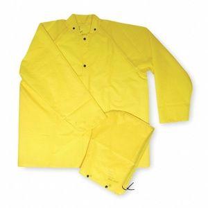 *4/$12* Flame Resistant Rain Jacket, Yellow